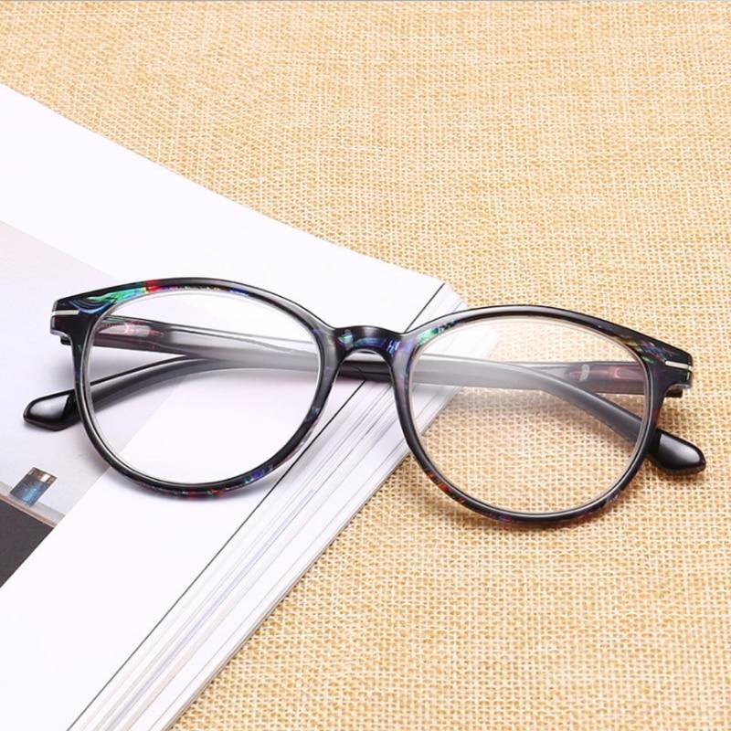 88e32ee4576 Fashion Unbreakable Reading Glasses Women Men Resin Glasses Transparent  Spectacles Vintage Round Reading glasses W715-in Reading Glasses from  Apparel ...