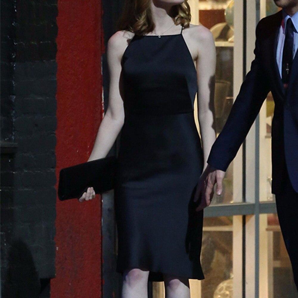 de66856d7662e8 La La land Mia czarna sukienka Cosplay kostium Emma kamień Party suknie  wieczorowe Backless kobiety sukienka Halloween boże narodzenie Party  prezenty w La ...