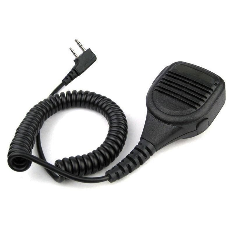 Heavy Duty Lautsprecher Mikrofon Mic PTT IP54 Wasserdicht für Kenwood Baofeng HYT Hytera Two Way Radio UV-5R TK-3302 GT-3 BF888S
