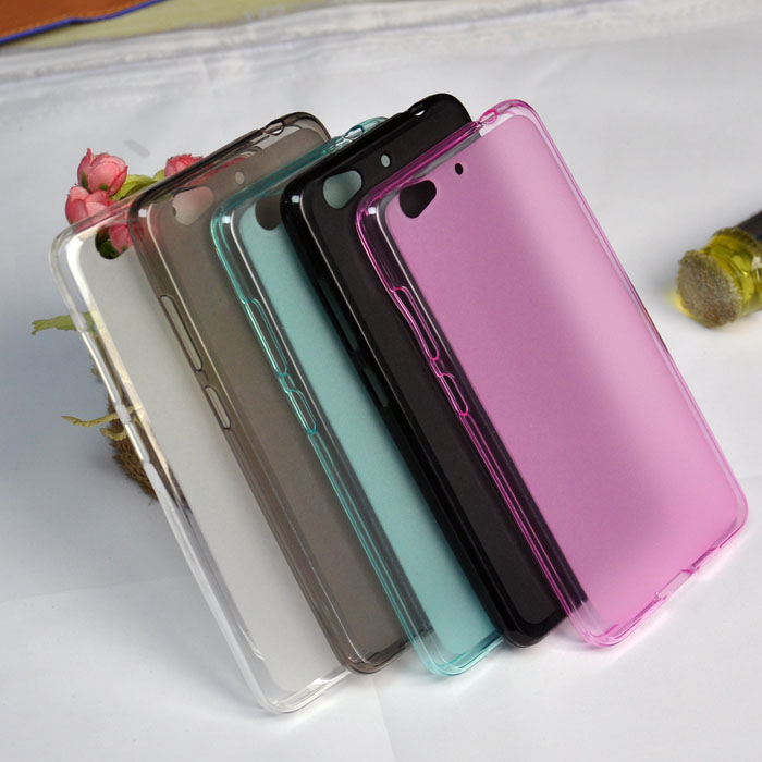 Protective Soft TPU Pudding Cases For QMobiles