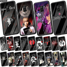 WEBBEDEPP Death Note Ryuk kira Tempered Glass Soft Case for Samsung Galaxy S8 S9 S10 Plus 8 9 A30 A50 A70 Cover
