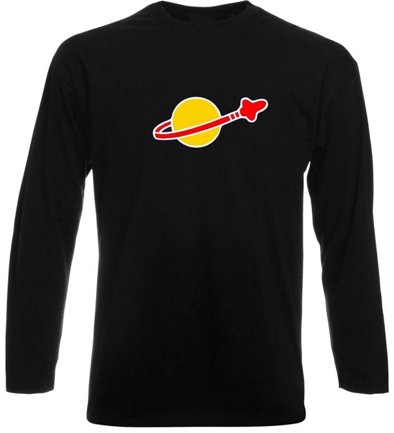 LEGO CLASSIC SPACE Vintage Cotton T SHIRT 2017 New Men/Womens Retro Sheldon Cooper Fun Mens Long Sleeve Printed T Shirt