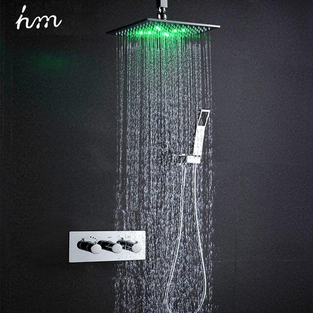 hm thermostat wasserhahn dusche set 10