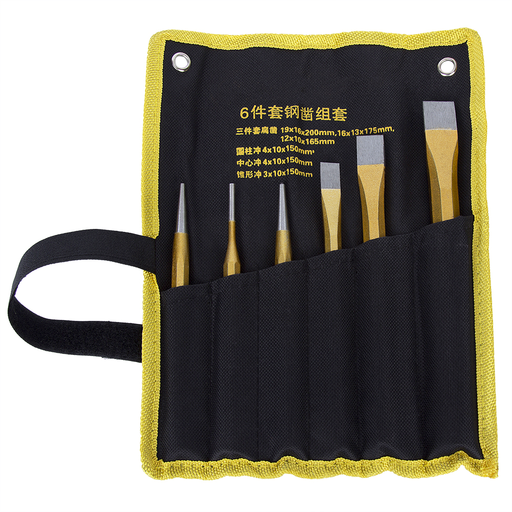 Professional Carving Chisels Knife Punch CR-V Alloy Steel Hand Tools Chisel DIY for Brickwork Concrete Metal Stone