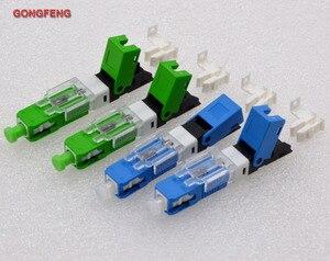 Image 5 - GONGFENG conector rápido en frío de fibra óptica, FTTH SC, modo único UPC/APC, venta al por mayor especial, 100 Uds.