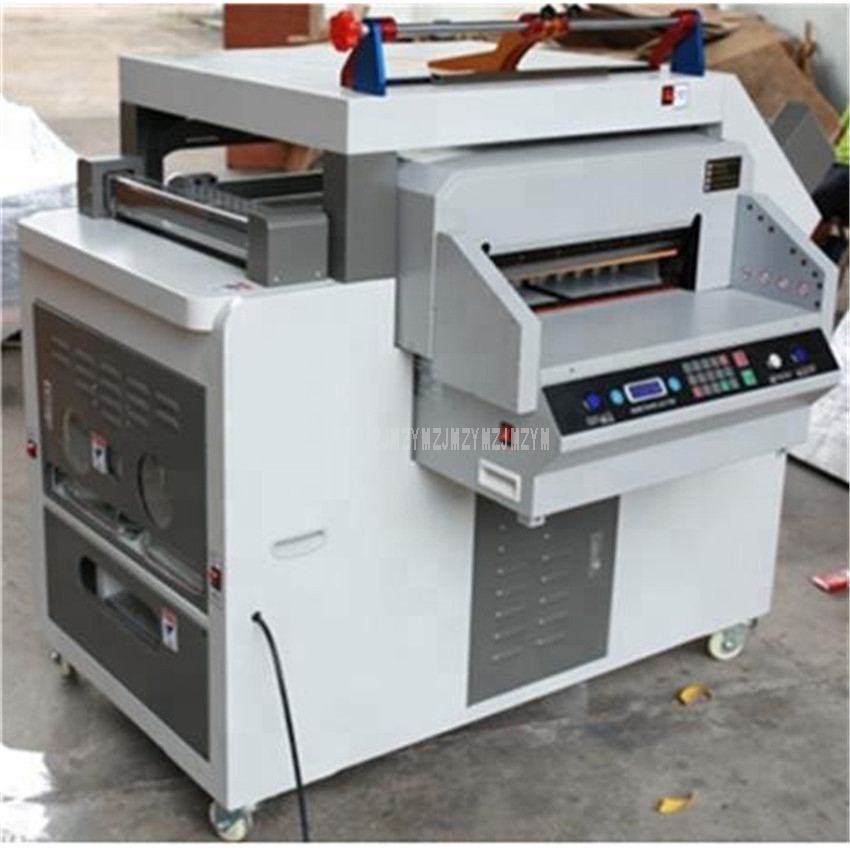 Picture E-book Making Machine With Binding Creasing Cnc Cutter Spherical Nook Chopping Wrap Angle Fucntion Or-1 four In 1 Albums Maker