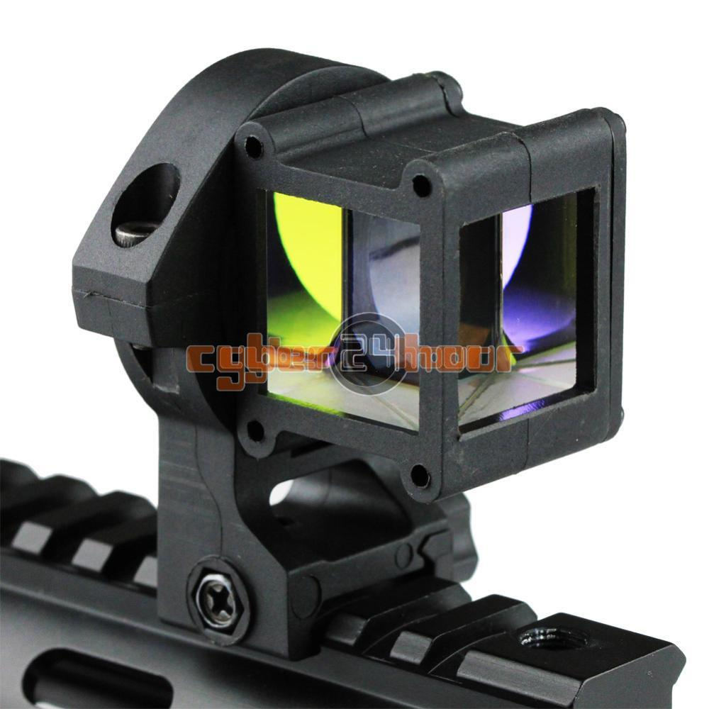 Tactical Reflect Angle Sight 360 Degree Rotate 4 Optical Sight Compatible With 20mm Weaver/Picatinny Rail