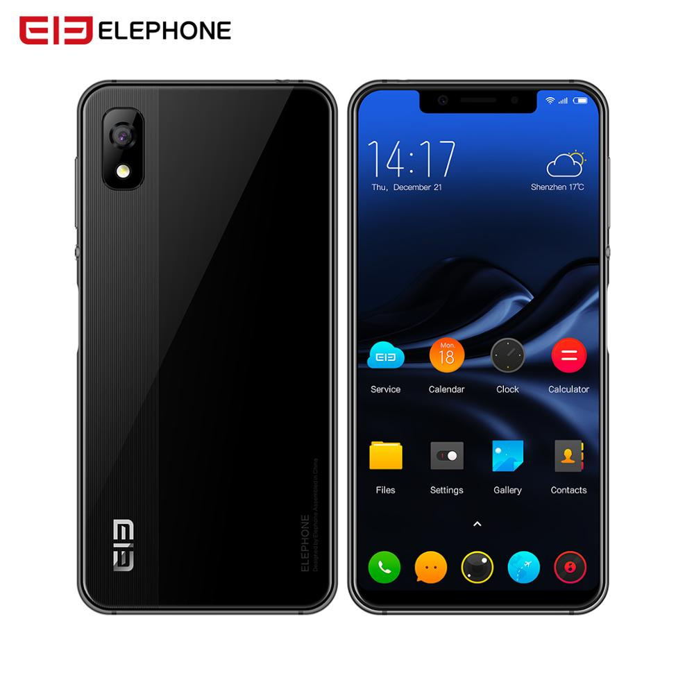 "ELEPHONE A4 3GB 16GB Mobile Phone Android 8.1 Face ID 5.85"" 1440*720P HD+ 18:9 Display,Full Screen 13MP+5MP MTK6739 Quad-core"