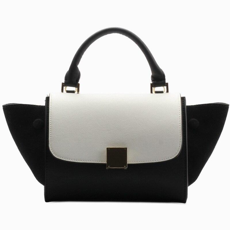 Genuine Leather Women Bag 2017 New Fashion Handbags Portable Handbags Women Diagonal Package Retro Female Bag A3872