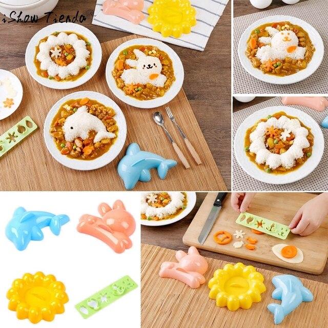 Us 46 1 Zestaw Dzieci Diy Frez Jedzenie Lunch Kanapki Toast Chleb Herbatniki Ciasteczka Formy Silikonowe Formy Do Dekoracji Kuchni W 1 Zestaw