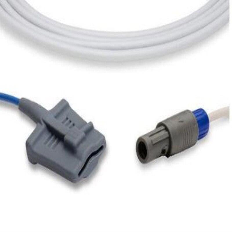 Compatible for Mindray Masimo Module 0010-30-42625 6 Pin Adult Silicone Spo2 Sensor Oximetry Sensor Blood Oxygen Probe 9ft/3MCompatible for Mindray Masimo Module 0010-30-42625 6 Pin Adult Silicone Spo2 Sensor Oximetry Sensor Blood Oxygen Probe 9ft/3M
