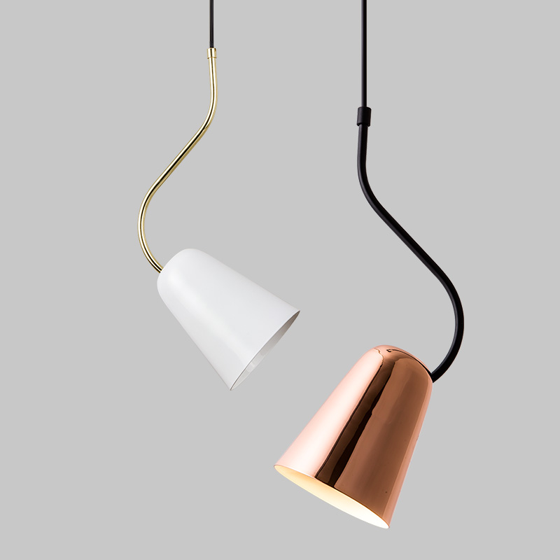 Single Head Nordic pendant lights Post Modern Simplified Corner Book Room Restaurant Bedroom Headlamp Creative Bar Lamp Pendant Lights     - title=