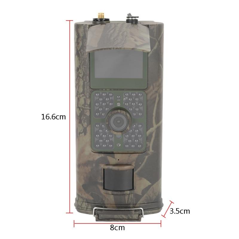 2017 caméra de chasse HC700G 16MP caméra de chasse de sentier 3G GPRS MMS SMTP SMS 1080 P Vision nocturne 940nm infrarouge