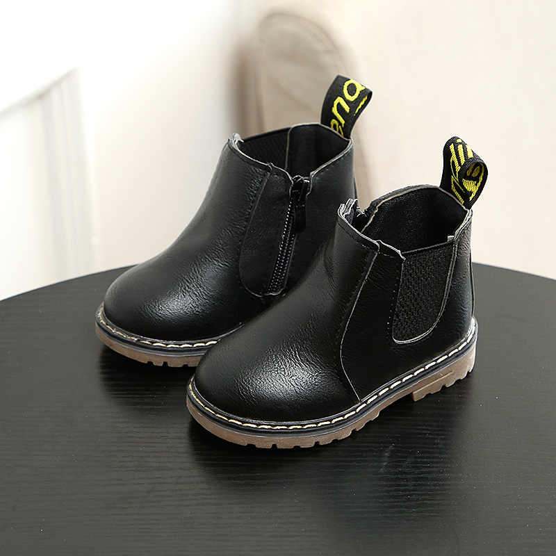 boots kids Spring and autumn fashion