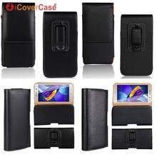 a62c33a17b64 Belt Clip Case For Huawei Y5 Y6 2017 2018 Y3 II Y7 Prime Nova Young Pro  Compact Lite 2 2s Waist Bag Holster Leather Pouch Cover