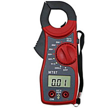 Digital Clamp Meter Current Clamp AC DC Ammeter Multimeter Voltmeter Multi-function Diode Fire Wire Tester MT-87