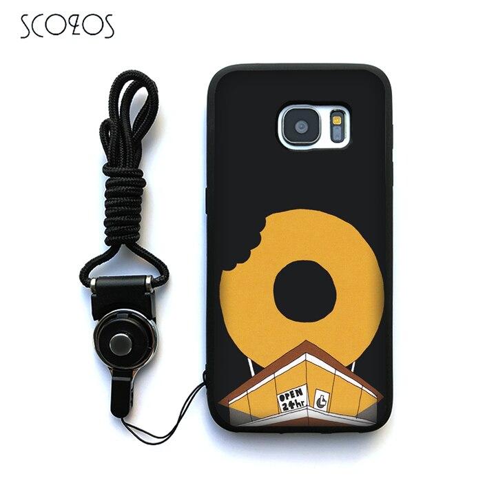 SCOZOS J DILLA DONUTS Silicone Phone Case Cover For Samsung