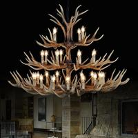 Antler Lamp In Pendant Chandelier 8 10 12 15 Arms Optional E14 Antler Chandelier Socket Chandelier
