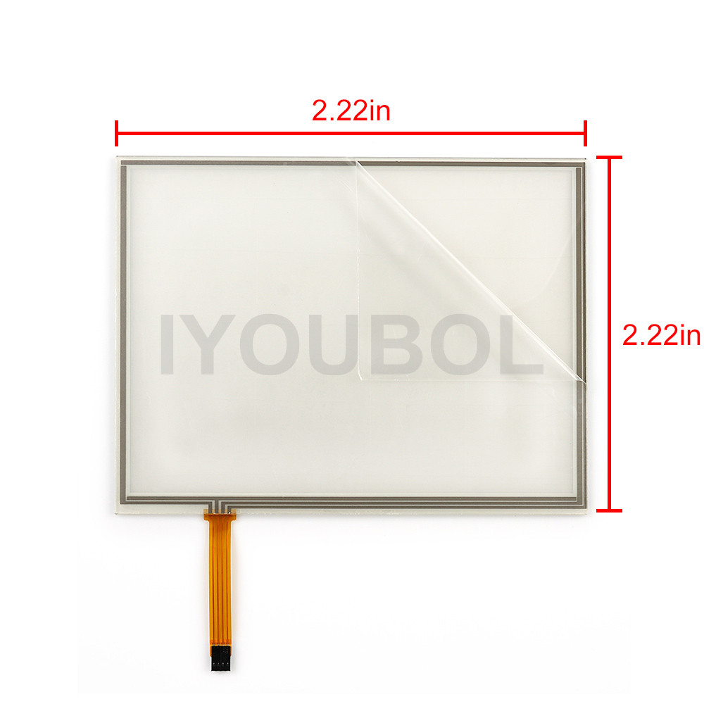 New Touch Screen Digitizer for Motorola Symbol zebra VC5090 full size screen Touch Panel Digitizer glass lens pane LCD Modules new touch digitizer screen lcd display assembly for motorola moto g xt1032 xt1033 digitizer sensor glass lens free shipping