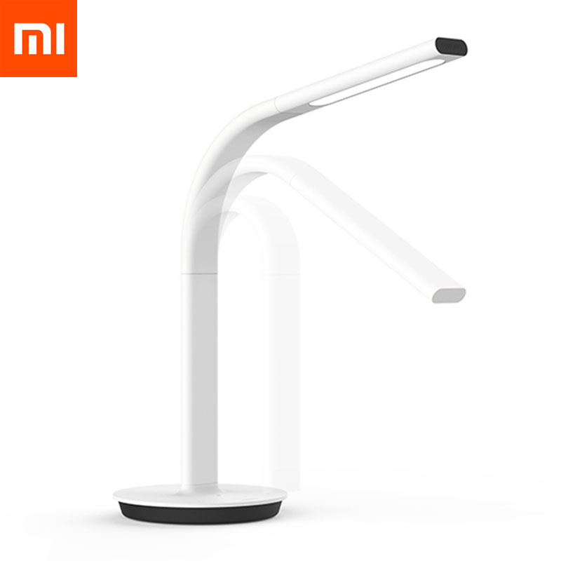 Original Xiaomi Mijia Desk Lamp LED Light Table Mijia Smart DeskLamp Desklight 2nd Dual light Mijia APP Control for IOS Android smart led table lamp desk lamp with wifi ip camera app for android ios phone hd1080p video camera audio recording with 8gb