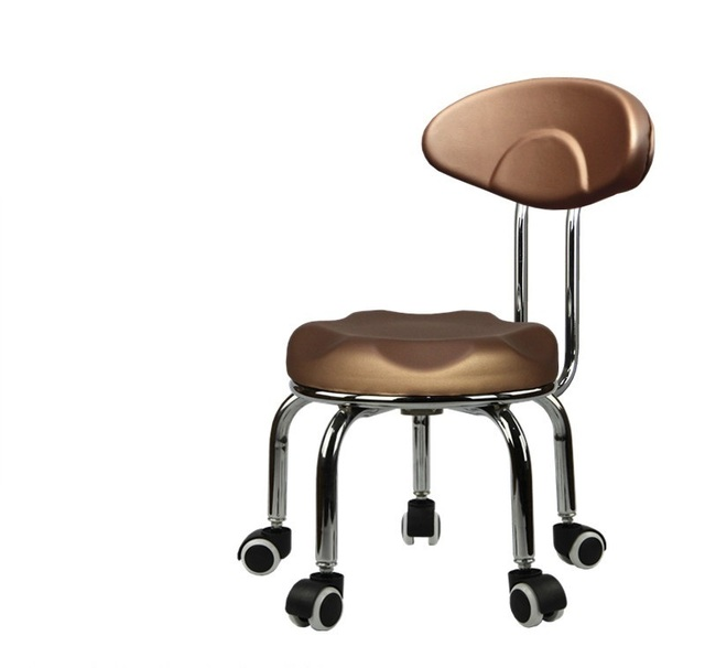 Hogar rueda en movimiento silla fregar limpio el taburete de La ...