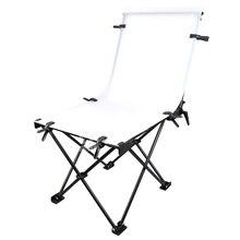 """Godox折りたたみフォトテーブル60 × 130センチメートル/24 """"× 51""""写真カバー静物写真撮影折りたたみテーブル"""