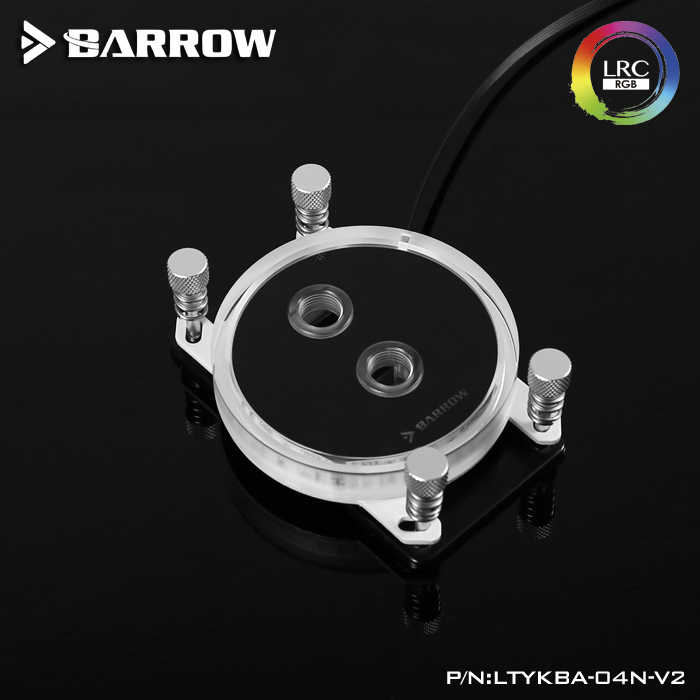Barrow watercooling LRC 2 0 5v CPU Water Block for AMD RYZEN AM3 AM4 Socket  RGB Light for AMD Platform with controller