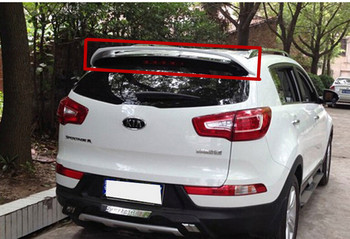 Spoiler For KIA Sportage R 2011 2012 2013 2014 2015 High quality Rear Wing Spoilers Trunk Lid Diffuser