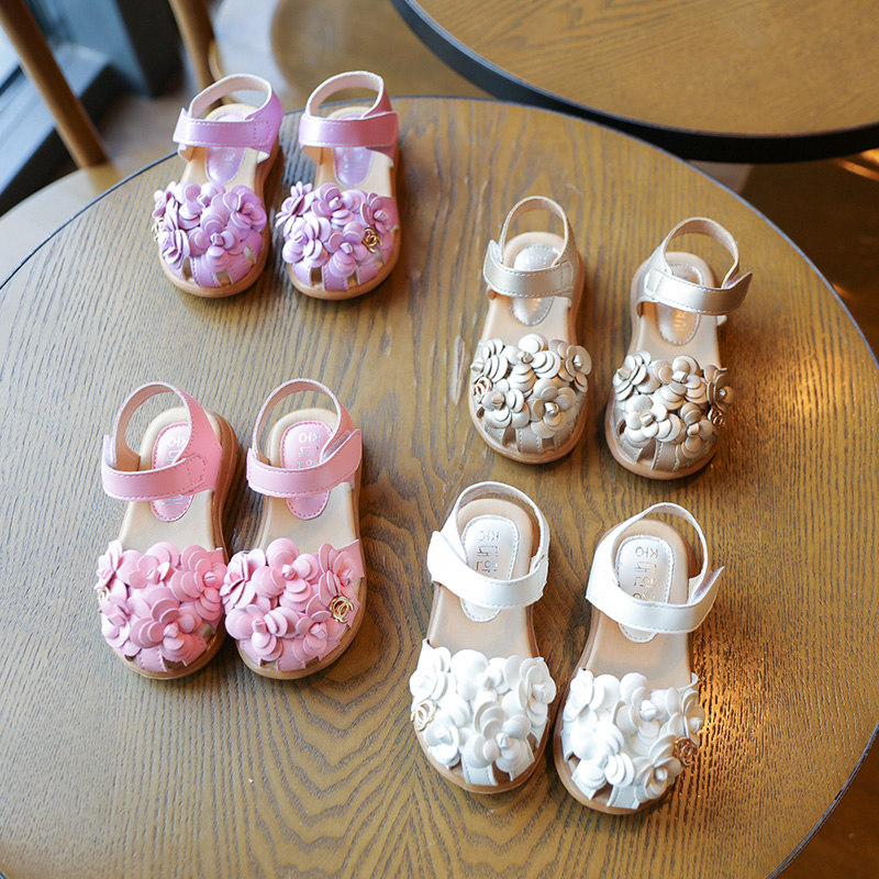Childrens-shoes-2017-spring-summer-new-KIDSs-sandals-girls-flowers-baby-soft-bottom-flower-shoes-size21-30-4