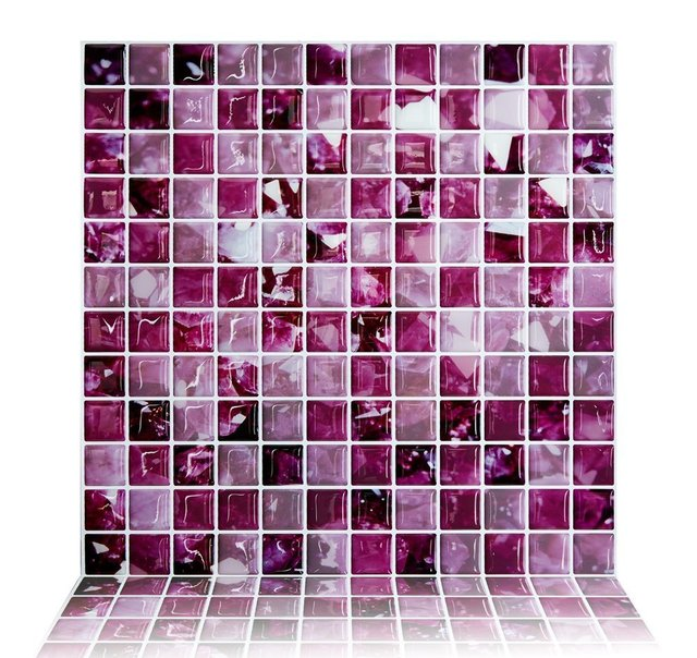 Awesome Fliesenaufkleber Küche 10x10 Pictures - Moderne ...