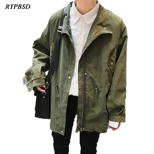 2018 Spring New Fashion Spring Jacket Male Zipper Korean Men Jacket Long Sleeve Turn-down Collar Casual Male Zipper Coat