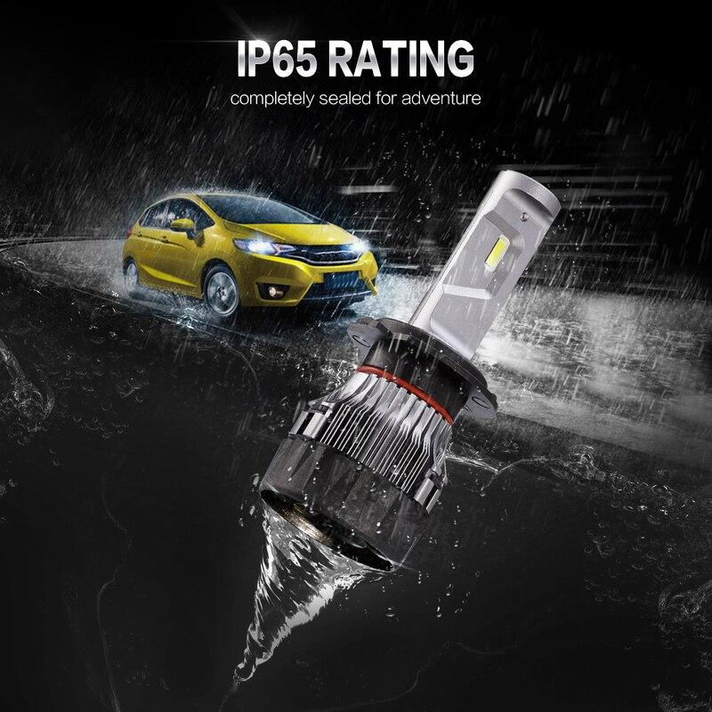 2018 Newest Oslamp Mini H7 Car Led Headlight Bulbs 6500k 5000lm