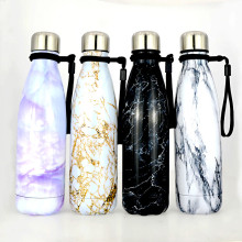 500ml Creative stainless steel cola thermos bottles Ourdoor portable Sports vacuum Water bottle Car Travel Thermos