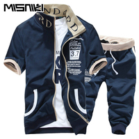 New Fashion Spring Autumn Solid Casual Slim Tracksuit Men Stand Collar Youths Mens Sports Suits Sets