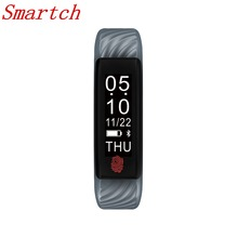 Smartch W810 Смарт Браслет монитор сердечного ритма фитнес-трекер активности Смарт-браслет для IOS Android-смартфон