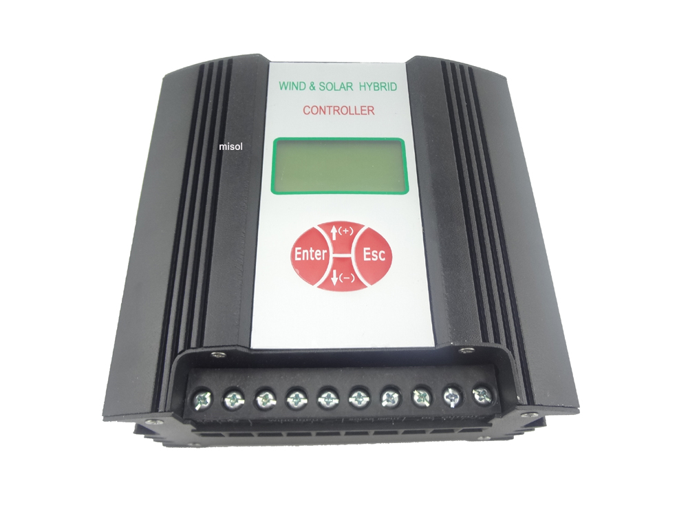 300W 12V(DC input) Hybrid Wind Solar Charge Controller, wind charge controller, wind regulator, wind controller wind