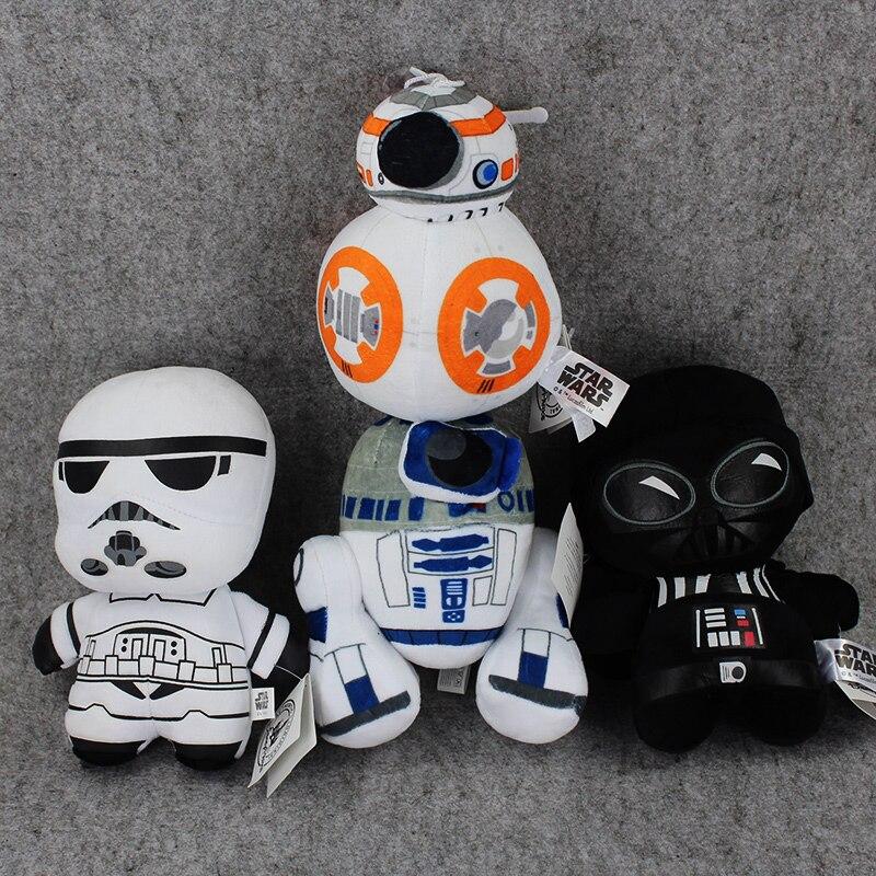 4 Stijlen 18 Cm De Kracht Wekt Bb8 R2d2 Stormtrooper Kylo Ren Darth Vader Pluche Pop Speelgoed Met Een Langdurige Reputatie