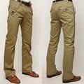 2017 La Venta Caliente Nuevo Estilo de la Alta Calidad de Los Hombres Pantalones de Algodón Color sólido Pantalones Casuales Pantalones Delgados de Los Hombres Pantalones Tamaño 28 ~ 36 13M0443