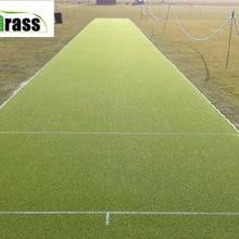 Не заполняющий Астро Газон Коврик для крикета шаг