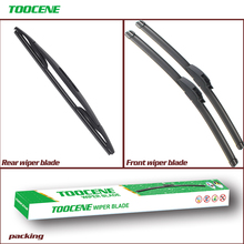 Front And Rear Wiper Blades For Skoda Fabia 2003-2007 High Quality Rubber Windscreen Car Accessories