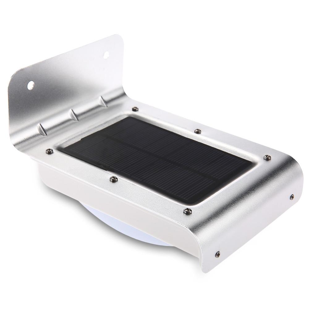 Lightinbox16 солнечный свет, движения Сенсор солнечного света для украшения сада Открытый Свет Водонепроницаемый энергосберегающий светильник настенный