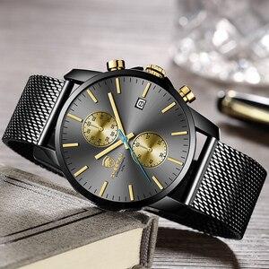 Image 4 - CHEETAH mężczyźni oglądać najlepsze luksusowe marki męskie mody zegarki kwarcowe ze stali nierdzewnej wodoodporny chronograf zegar Relogio Masculino
