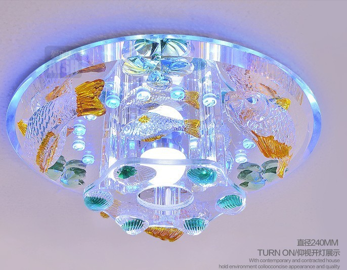 Led dome light lamp vestibular porch corridors delicate shells smallpox lamp act the role ofing crystalline light creative cartoon baby cute led act the role ofing boy room bedroom chandeliers children room roof plane light absorption