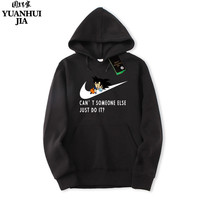 New Brand Sweatshirt Men S JUST DO IT Hoodies Men Hip Hop Fashion Fleece High Quality