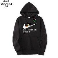 New Brand Sweatshirt Men S JUST DO IT Hoodies Men Hip Hop Fashion Fleece High Quality