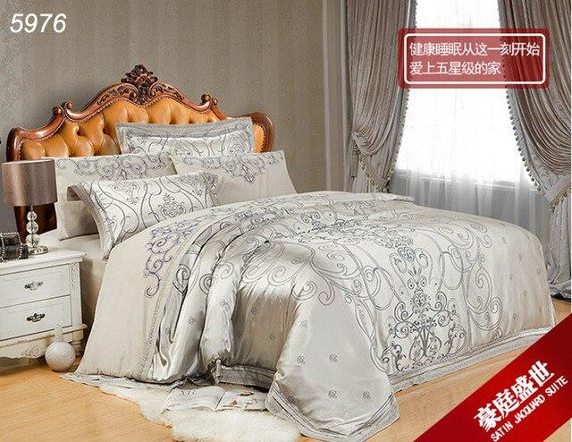Satén de seda de colores bohemio de paisley sexy juegos de cama ...