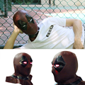 Deadpool 2 Marvel Deadpool Masks With Led Light Cosplay Costume Props Superhero Movie Latex Mask Collectible Toys Full Face Mask