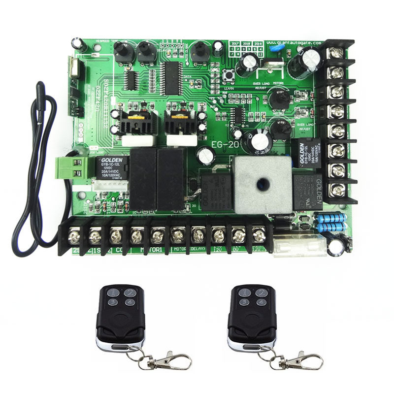 12V DC PCB board Universal use double automatic arm swing door control panel, motor (remote option)12V DC PCB board Universal use double automatic arm swing door control panel, motor (remote option)
