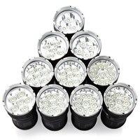High Power 3t6 LED Flashlight Torch 3 14t6 3 X XM L T6 34000 LM By