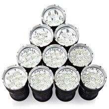 High Power 3t6 LED Flashlight Torch 3-14t6 3 x XM-L T6 34000 LM By 4 x 18650 Wat